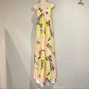 5/48 Strapless Maxi Dress